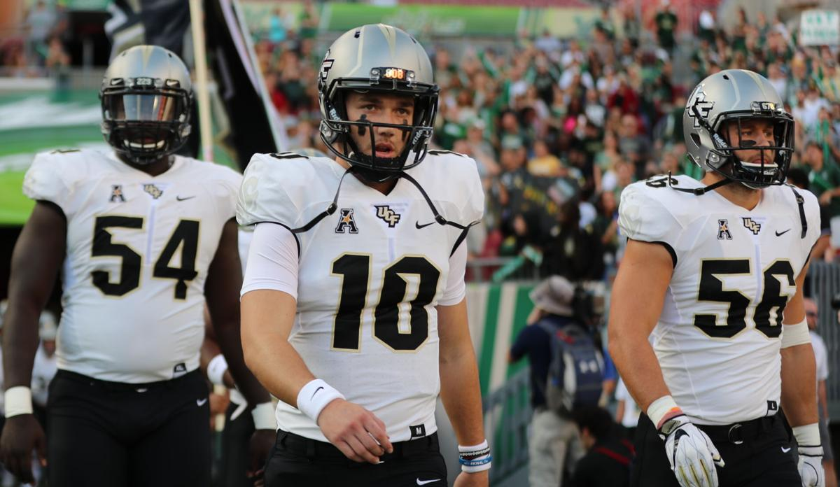 pretty nice d4c54 8ed14 UCF defeats USF in War on I-4 despite Milton's injury ...