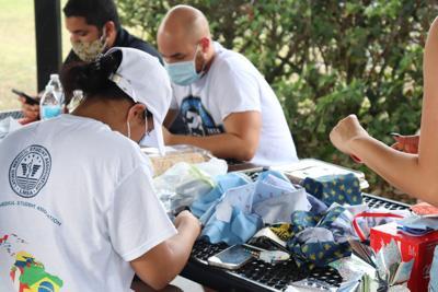 LMSA hosts mask making volunteer drive