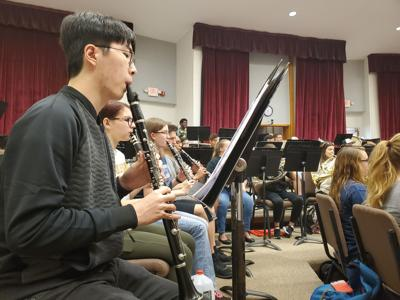 UCF Concert Band debuts new work in dedication to first responders photo MA