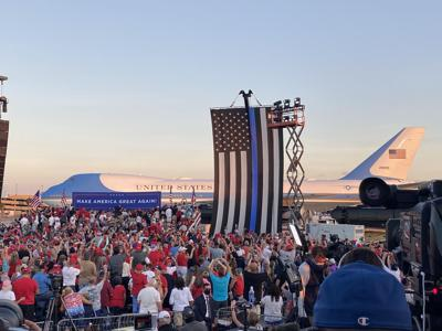 President Trumps first campagin rally since COVID-19 diagnosis