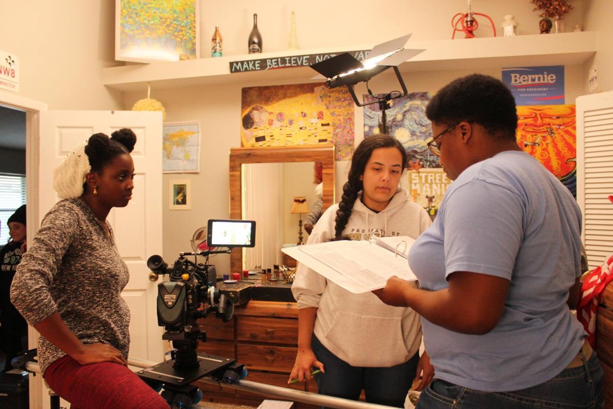 "UCF student's work on feature film ""Egghead & Twinkie"" 2"