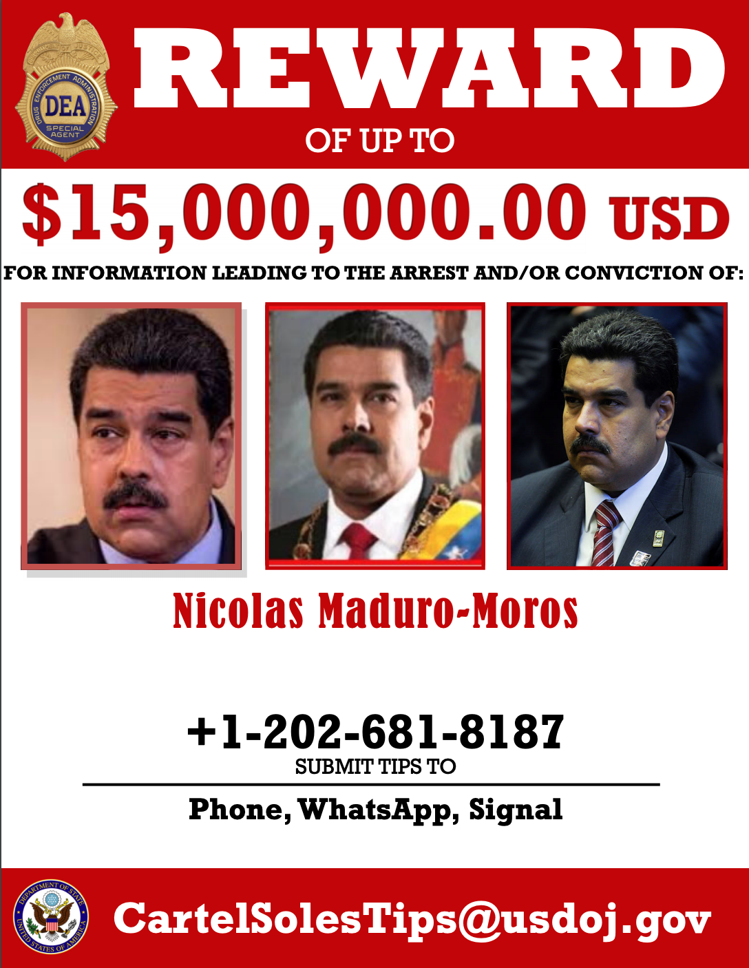 President of Venezuela indicted for narcoterrorism in the U.S., Venezuelans are 'not surprised'