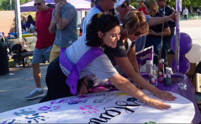 UCF cancer survivors rally together to relay for life