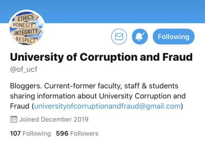 UCF acknowledges anonymous Twitter account in statement
