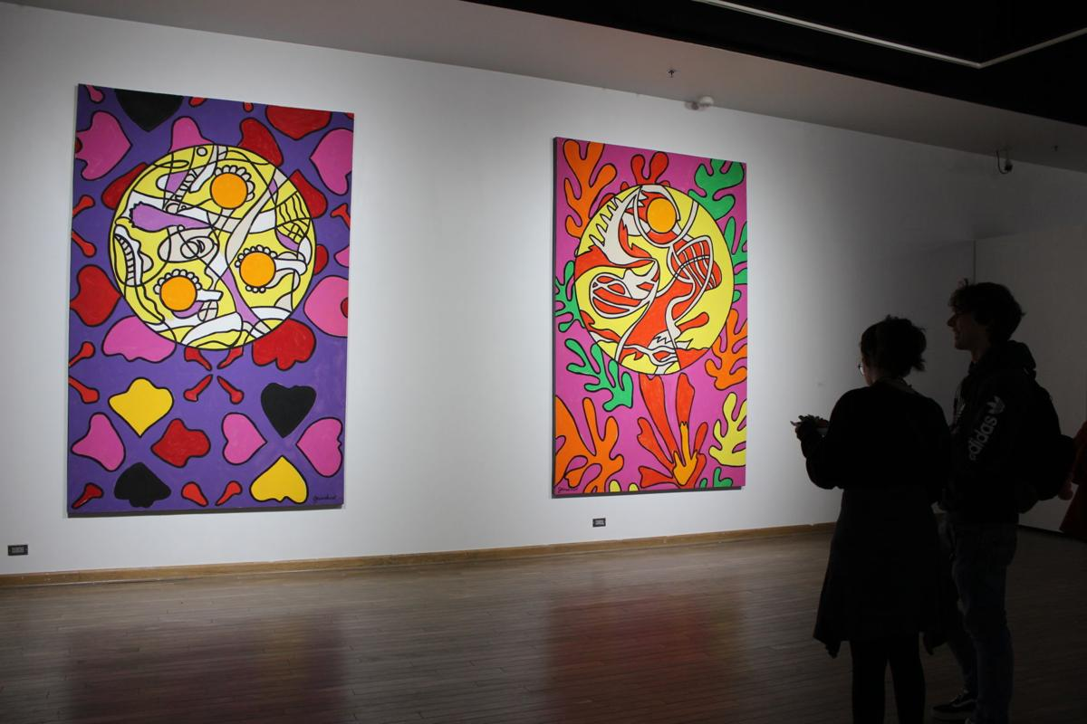 Art gallery exhibition honors professor retiring after 50 years