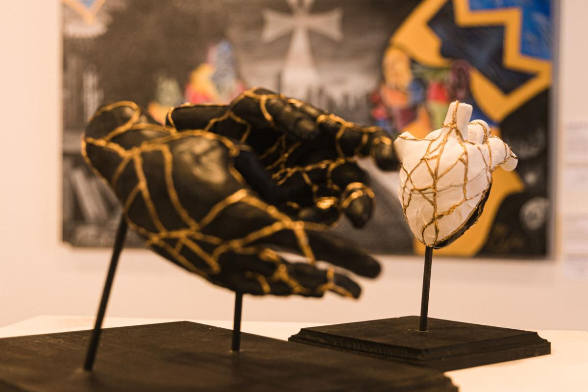 Eclectic Knights art exhibit provides a healing outlet for artists