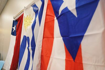 Latin American Flags MA
