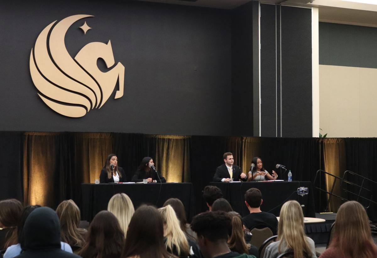 SGA presidential candidates debate ahead of March vote