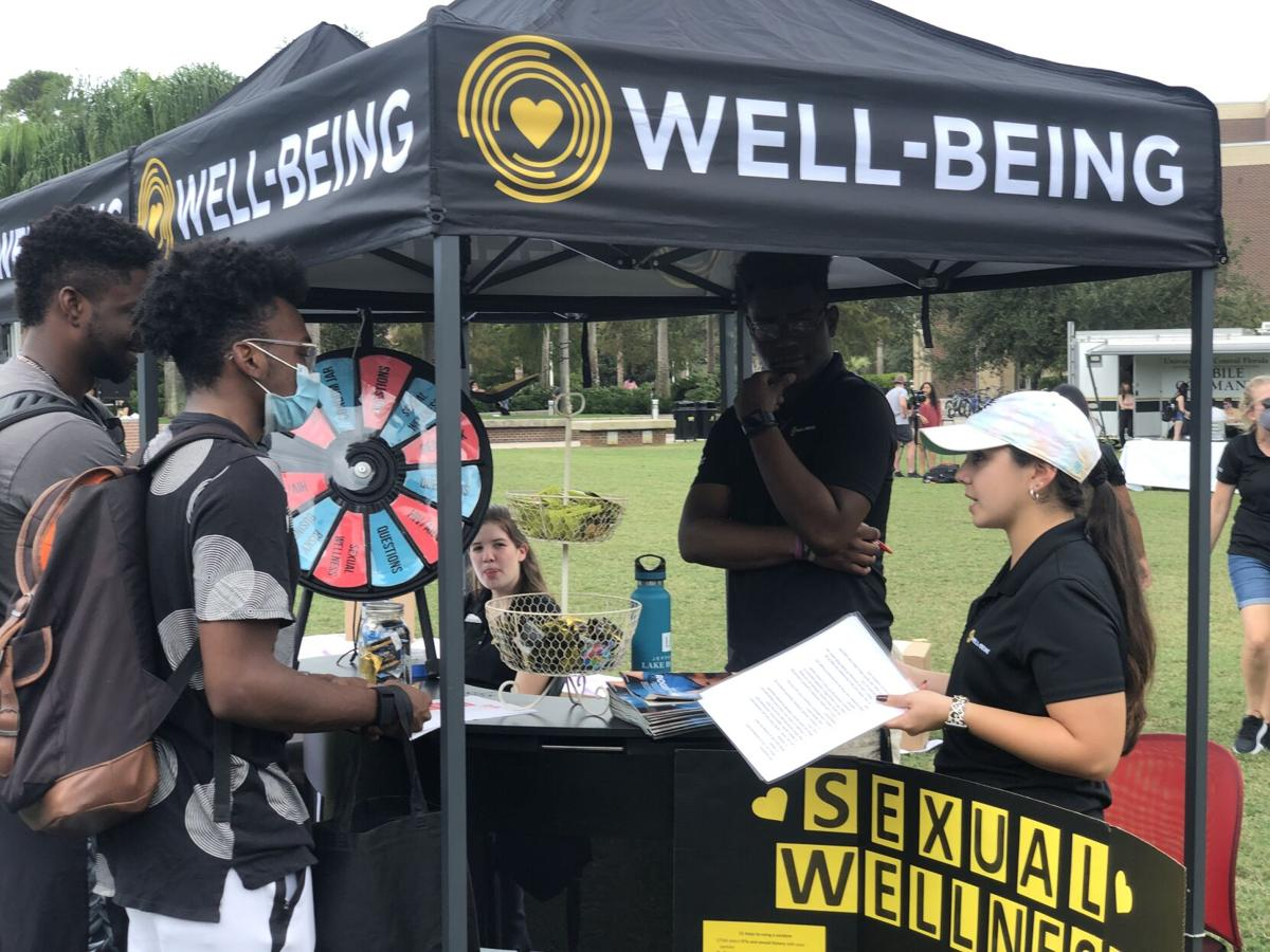 (this one) Covid-conscious Healthy Knight Expo informs students about healthfulness
