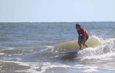"UCF Surf Club attends ""surfing Woodstock"" in Carolina Beach, North Carolina."