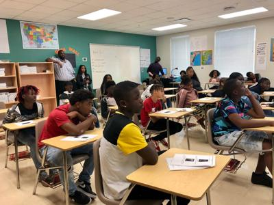 UCF Veteran's Legacy Program reaches out to Parramore students