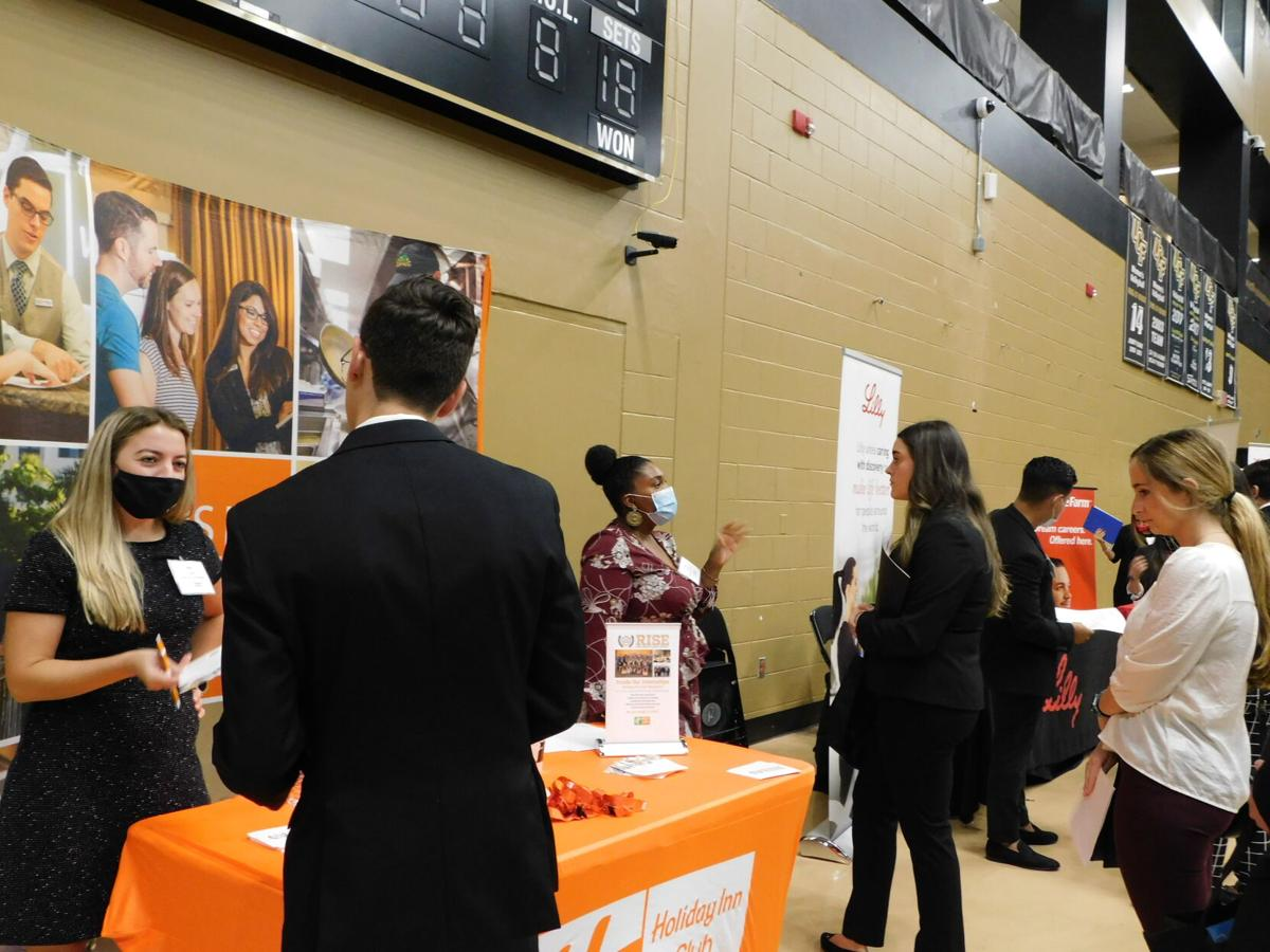 UCF Students Connect with Businesses at The Invitational.