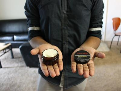 Product in hands