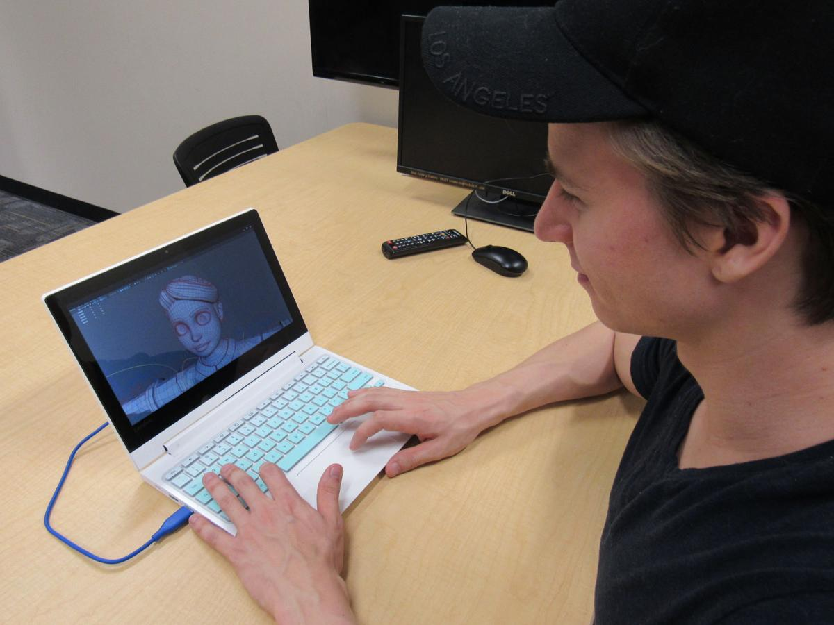 Austin Royall expresses his passions about character animation in the emerging media major CJ