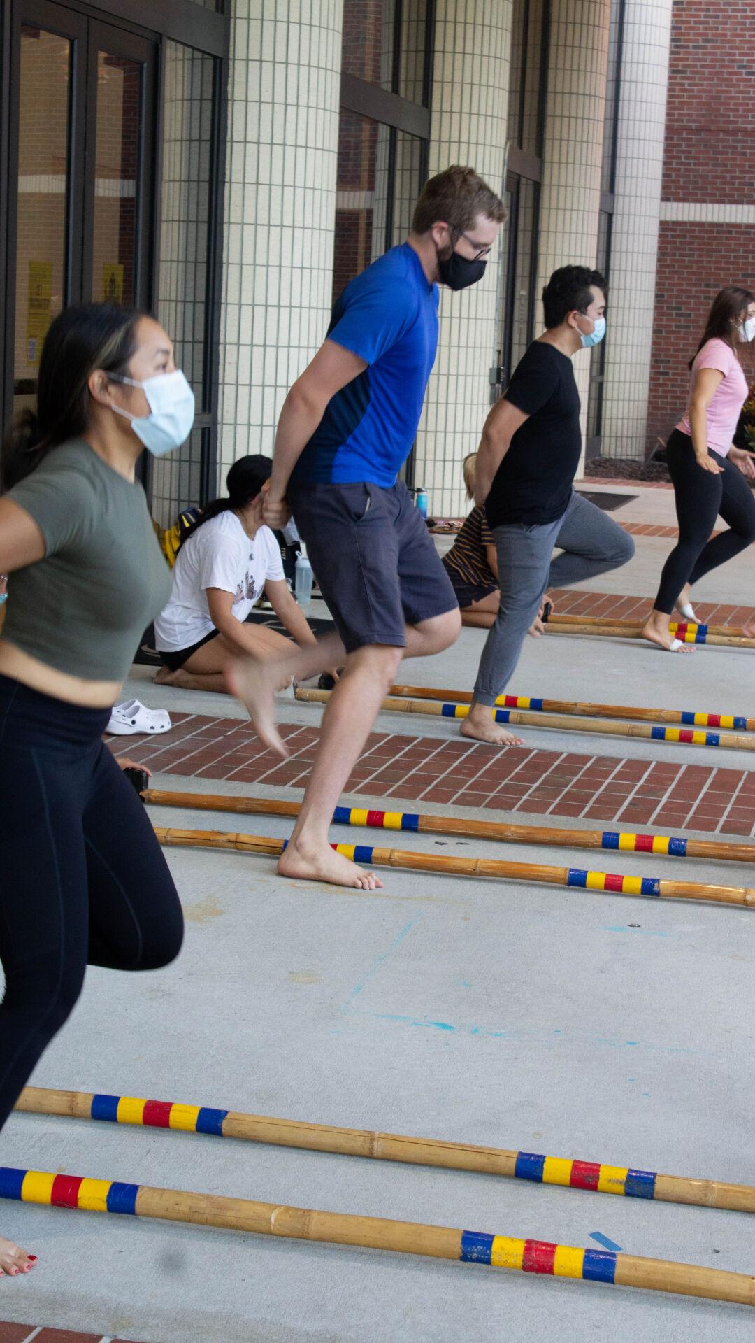 FSA dance troupe rehearsal