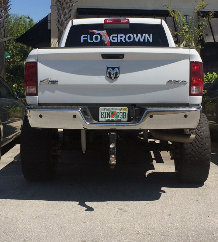 A flogrown decal proudly displayed on jesse welchs truck the company hopes to tap into some of the popularity of the salt life brand with a more