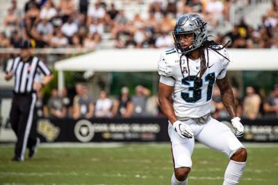 """UCF football player uses family and friends to """"bounce back"""" from injury"""