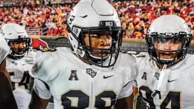Knights lose thriller in Louisville after last second pick-six