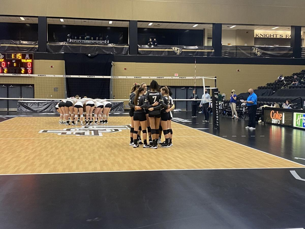 UCF Volleyball Behind the Scenes: Managing a Game in a Pandemic (Cover Photo)
