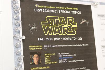 Star Wars Writing Poster CJ