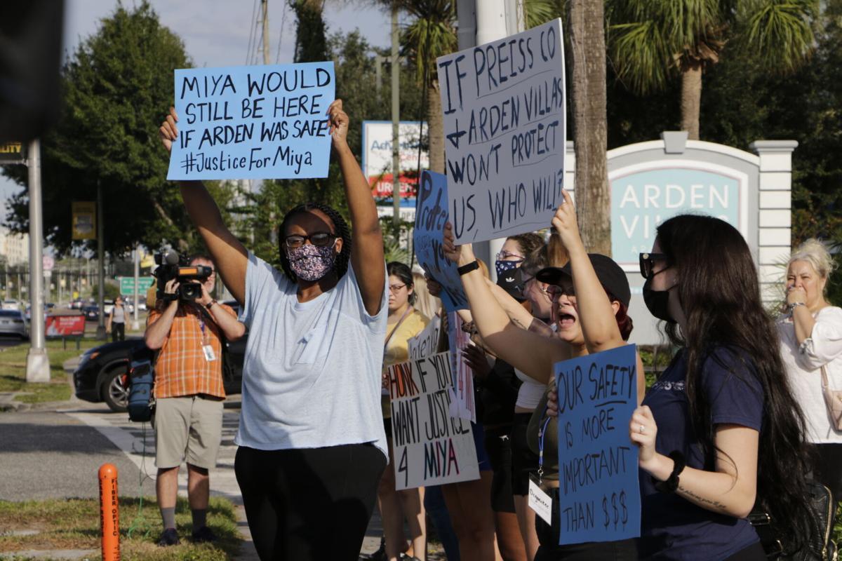 Arden Villas Protest