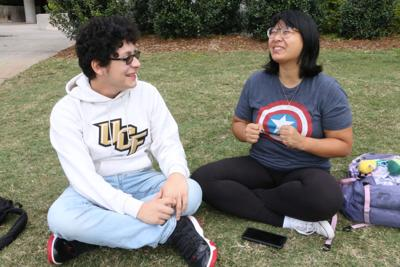 First generation student determined to succeed because of family's background