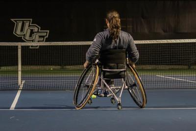 Gold Medalist begins coaching the wheelchair tennis team