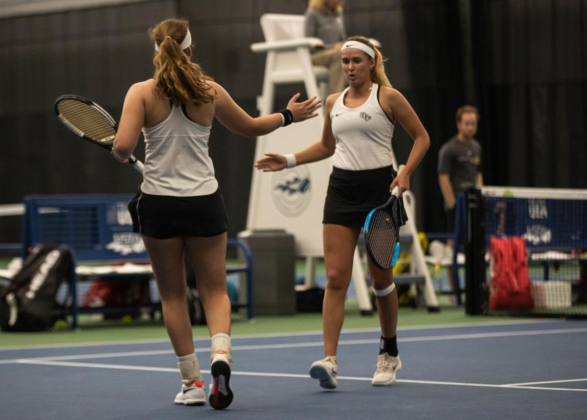 UCF women's tennis runs away with victory against Cornell 2