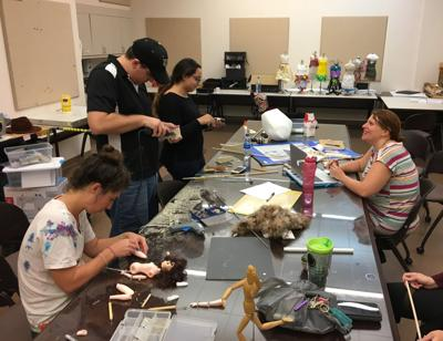 Puppetry class: No strings attached