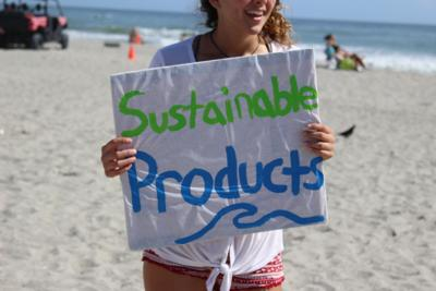 Sustainability Club Raises Awareness of Pollution During Spring Break