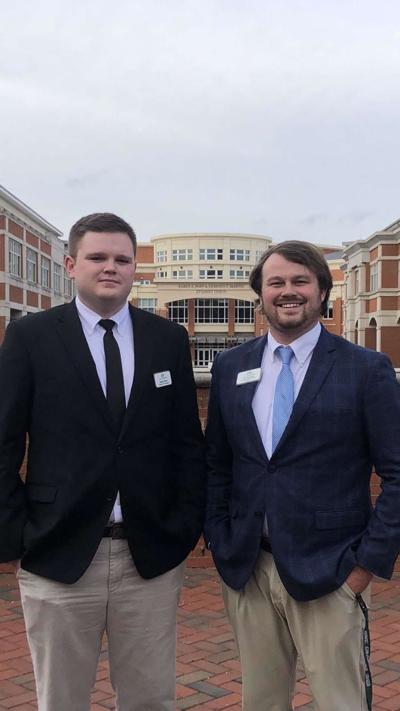 Photo of candidates Jacob Baum and Dick Beekman