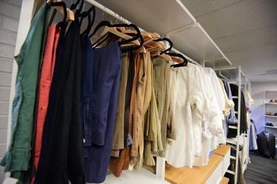 UNC Charlotte Career Center closet