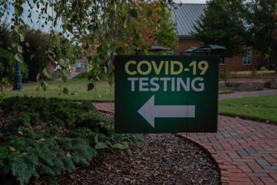 Photo of testing sign