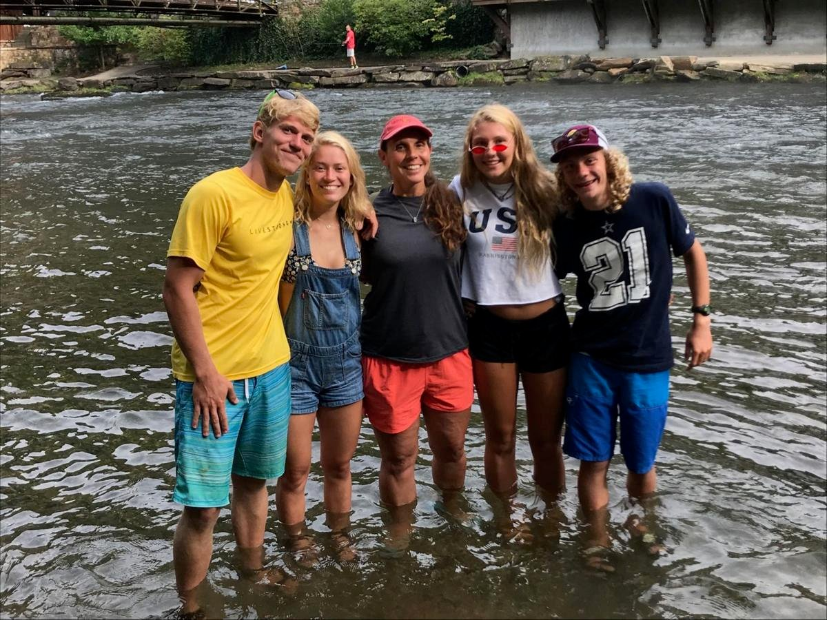 Riley Howell w/ family