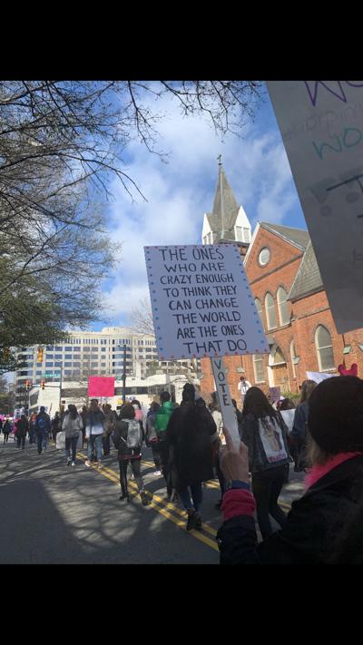 Charlotte women's march 2020