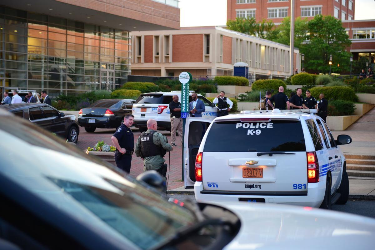 UNC Charlotte Campus Shooting, 4/30, Chris Crews, DSC_6091