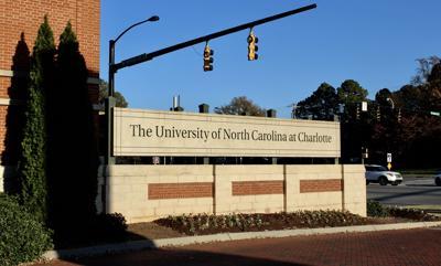 UNC Charlotte Sign