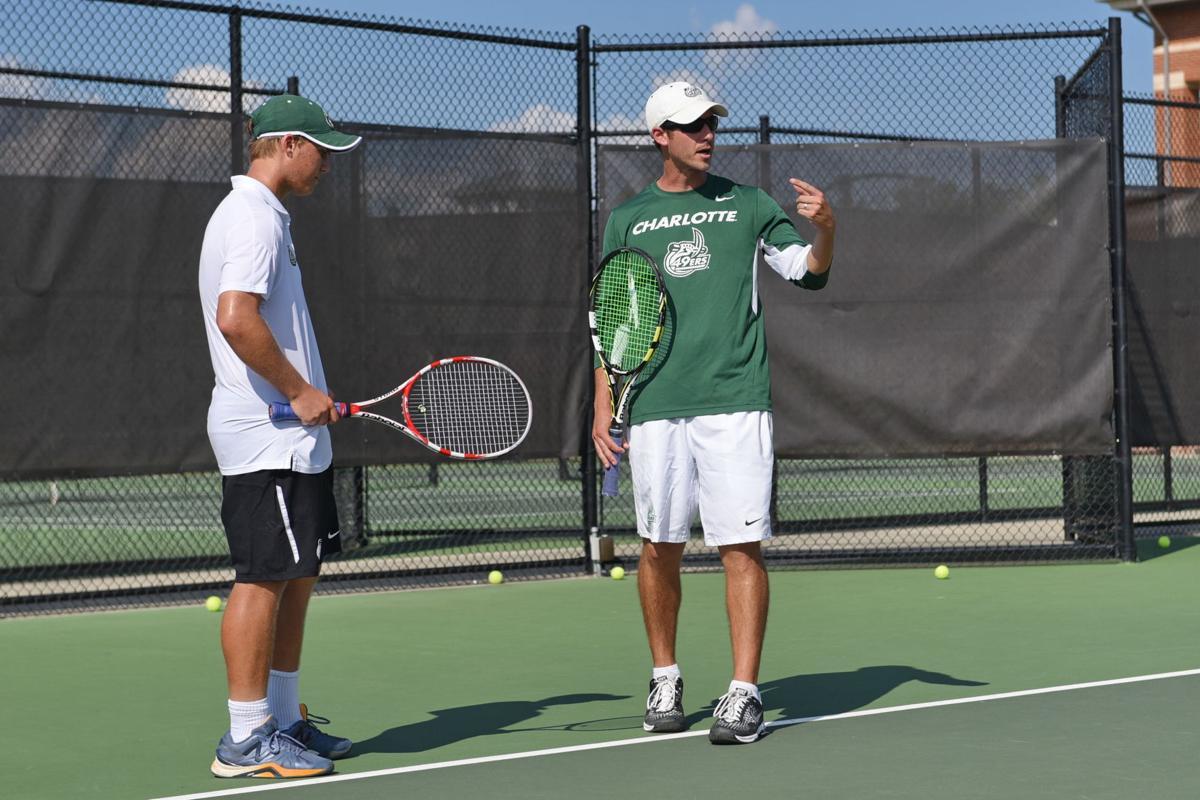 Mens Tennis Practice, 9/13