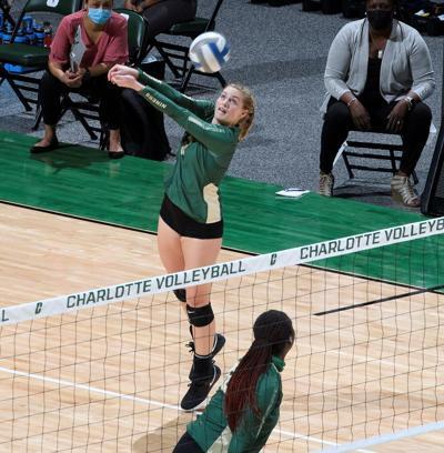 Charlotte/MTSU volleyball