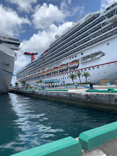 A cruise to the Bahamas: Nassau & Half Moon Cay