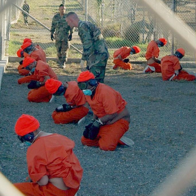 Camp Guantanamo prisoners