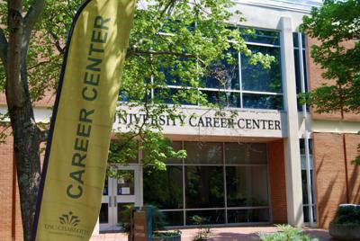 Career Center in trees