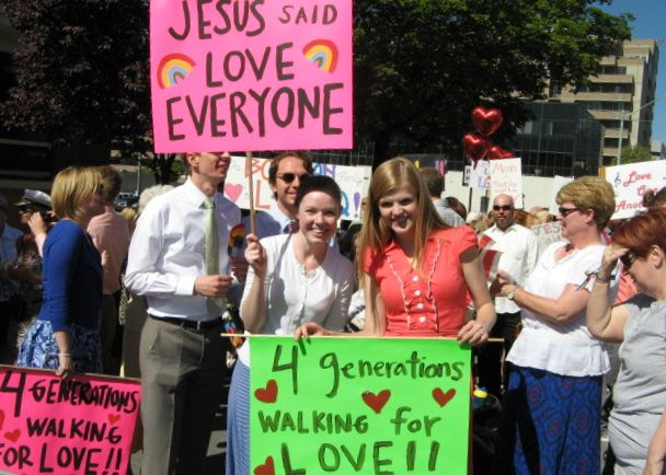 LGBT march pic