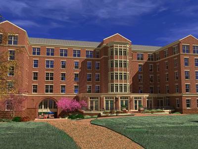Residence Hall XVI plan