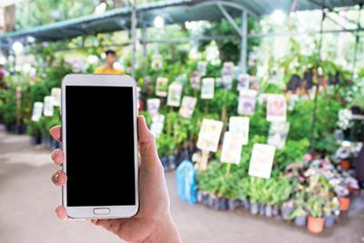 Plant Shop with Your Smart Phone