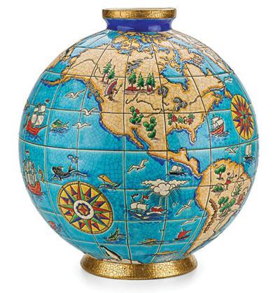 Dating Vintage Globes Easy