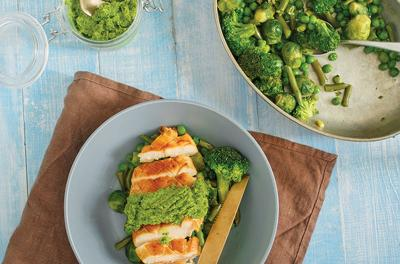 Ramp Up 'Spring' Chicken