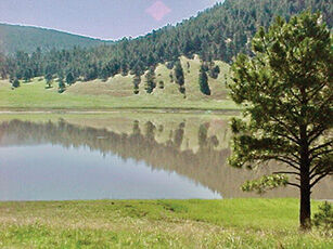 Snow Lake, An Isolated Gem Deep in the Gila Forest