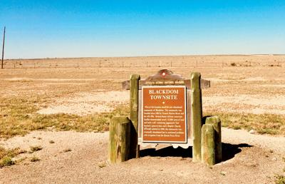 Ghost Town Was N.M.'s First Black Settlement