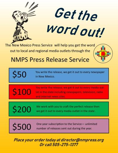 NMPS Press Release Service